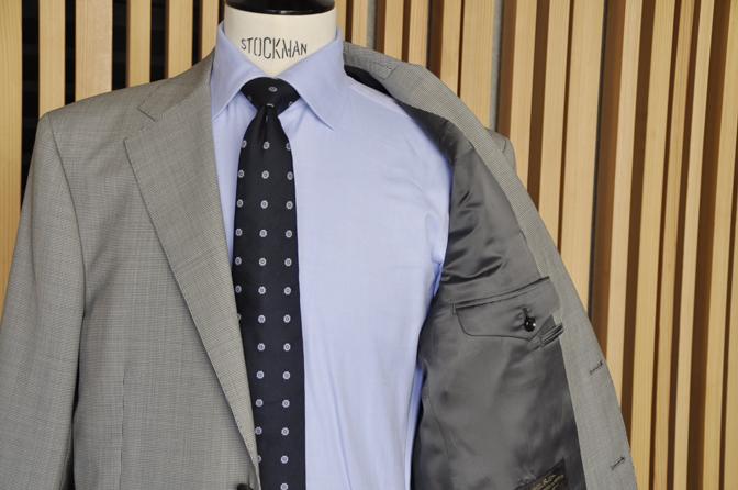 DSC0550-3 オーダースーツの紹介-Biellesi グレー千鳥格子スーツ-