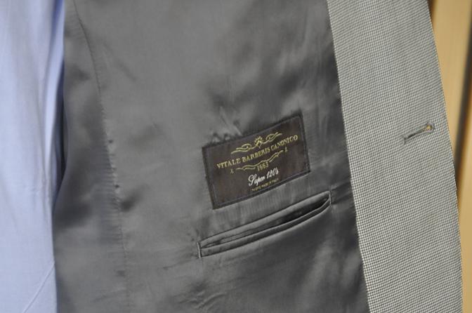 DSC0551-6 オーダースーツの紹介-Biellesi グレー千鳥格子スーツ-