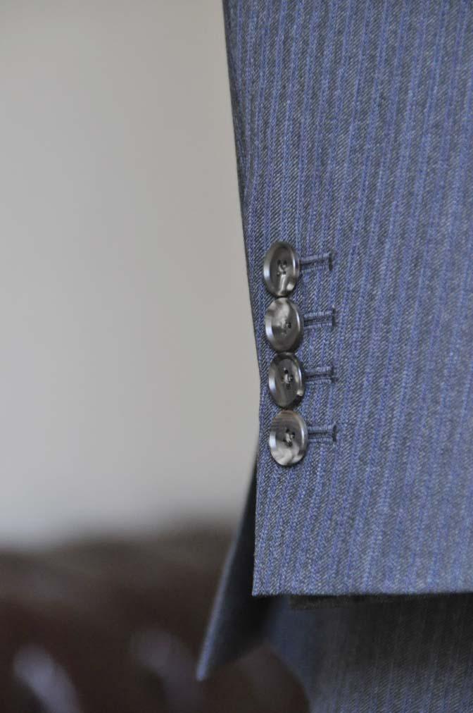 DSC0555-1 お客様のスーツの紹介-Biellesiグレーヘリンボーンスーツ- 名古屋の完全予約制オーダースーツ専門店DEFFERT