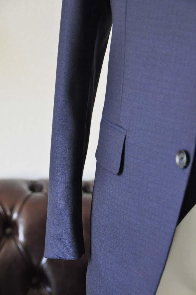 DSC0555 お客様のスーツの紹介-ネイビーチェックスリーピース-