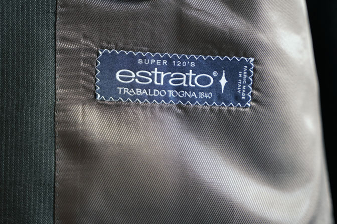 DSC05561-1 オーダースーツの紹介-TRABALDO TOGNA estratoグレーストライプスリーピーススーツ-