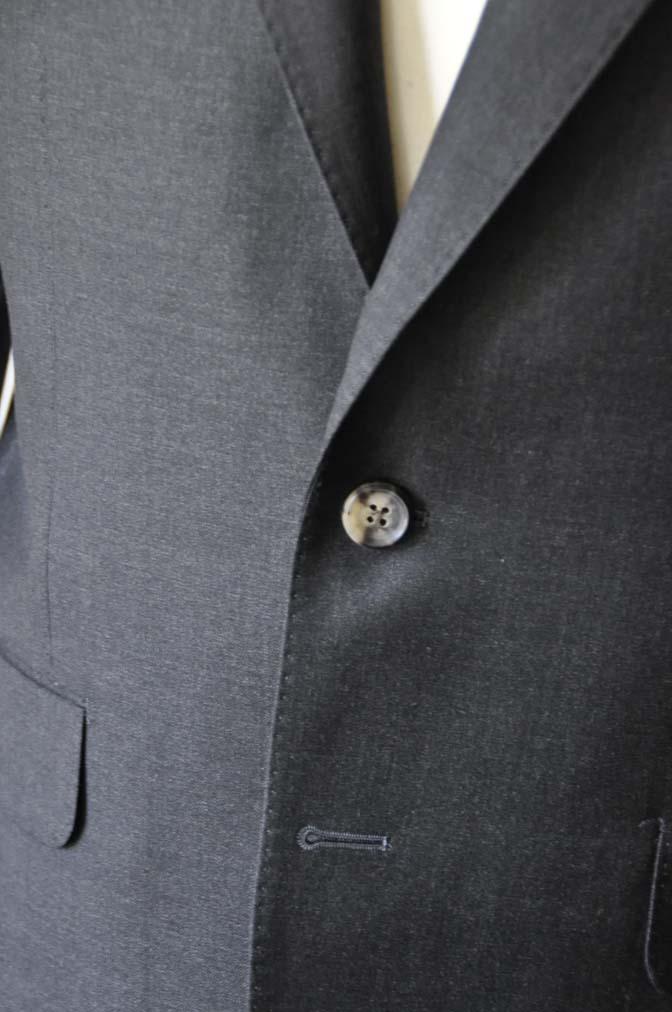 DSC0571-1 お客様のスーツの紹介- Canonico チャコールグレースーツ-