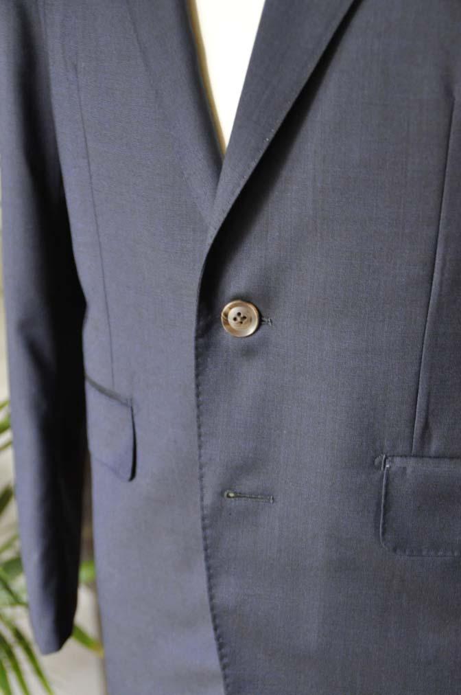 DSC05892 お客様のスーツの紹介-Biellesi 無地ネイビースーツ-