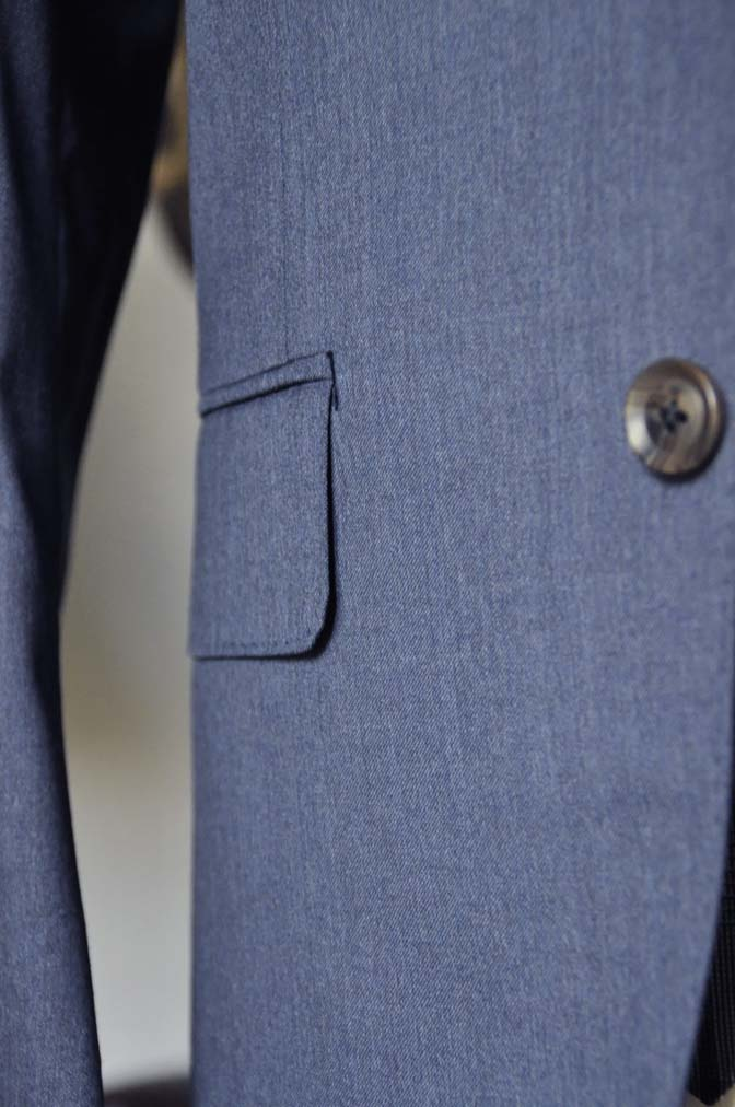 DSC0592-2 お客様のウエディング衣装の紹介-Biellesi ネイビースーツ グレーチェックベスト-