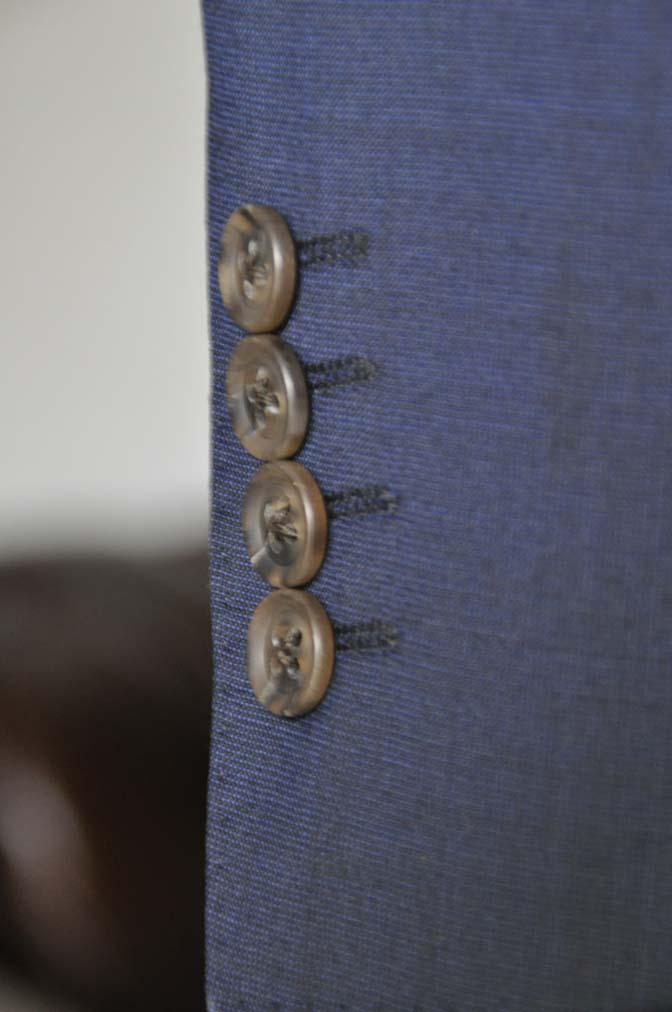 DSC05933 お客様のスーツの紹介-Biellesi 無地ネイビースーツ-