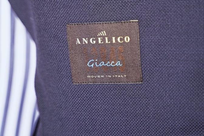 DSC05957 オーダージャケットの紹介-ANGELICO ネイビーホップサックジャケット-