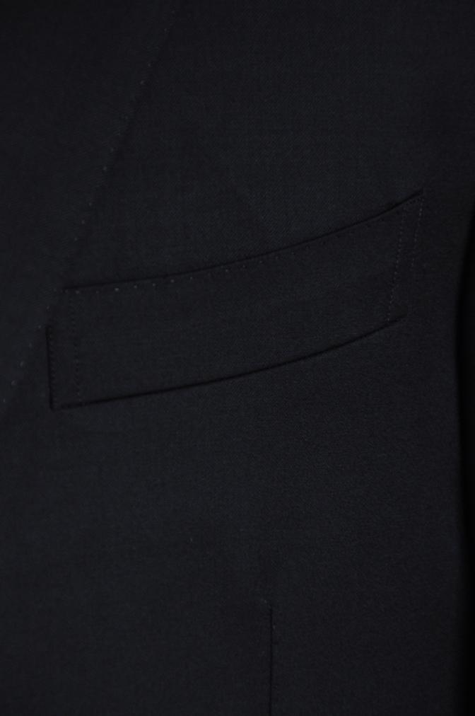 DSC05961 オーダースーツ -BIELLESI ブラック スリーピース- 名古屋の完全予約制オーダースーツ専門店DEFFERT