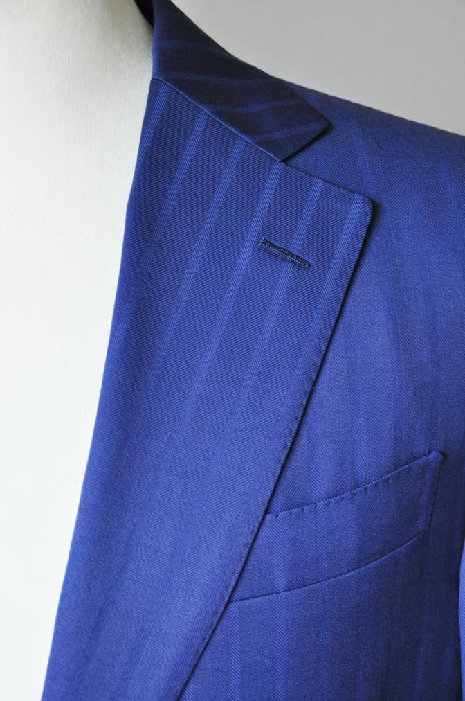 DSC05982 お客様のスーツの紹介-BIELLESI ブライトネイビーストライプ-