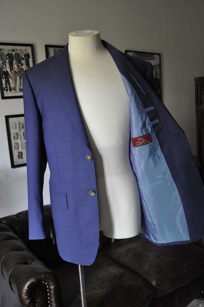 DSC05983 お客様のスーツの紹介-Biellesi ネイビースーツ-