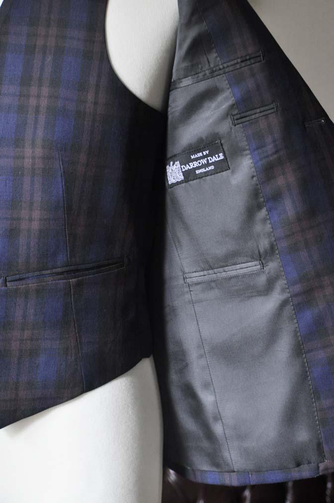 DSC0599-3 お客様のウエディング衣装の紹介- DARROWDALEネイビーチェック スリーピース-DSC0599-3 お客様のウエディング衣装の紹介- DARROWDALEネイビーチェック スリーピース- 名古屋市のオーダータキシードはSTAIRSへ