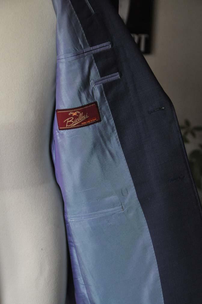 DSC05992 お客様のスーツの紹介-Biellesi ネイビースーツ-