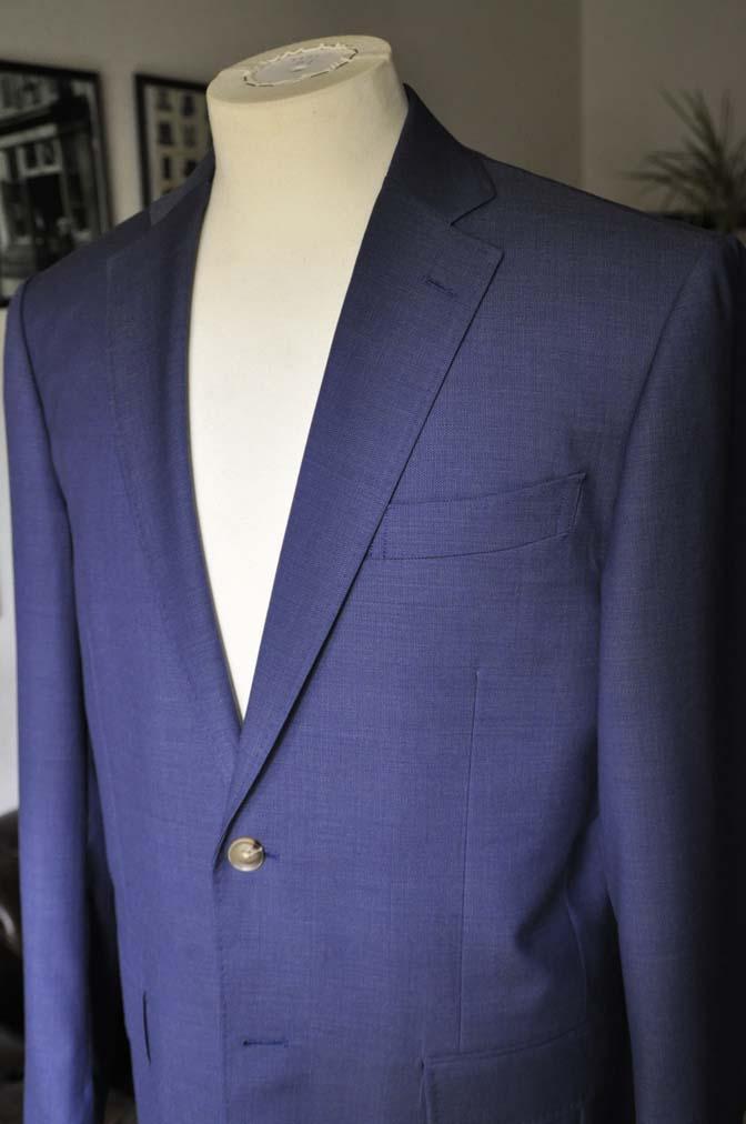 DSC06033 お客様のスーツの紹介-Biellesi ネイビースーツ-