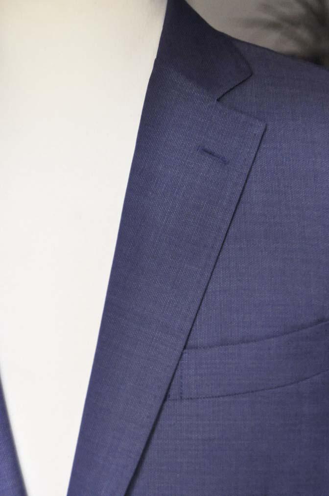 DSC06042 お客様のスーツの紹介-Biellesi ネイビースーツ-