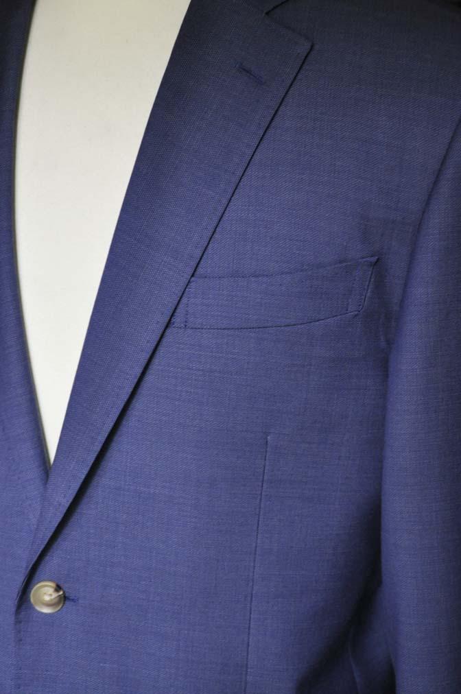 DSC06062 お客様のスーツの紹介-Biellesi ネイビースーツ-