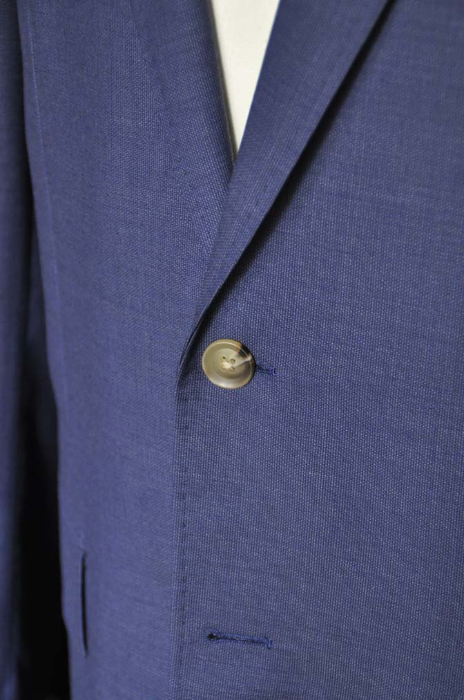 DSC06072 お客様のスーツの紹介-Biellesi ネイビースーツ-