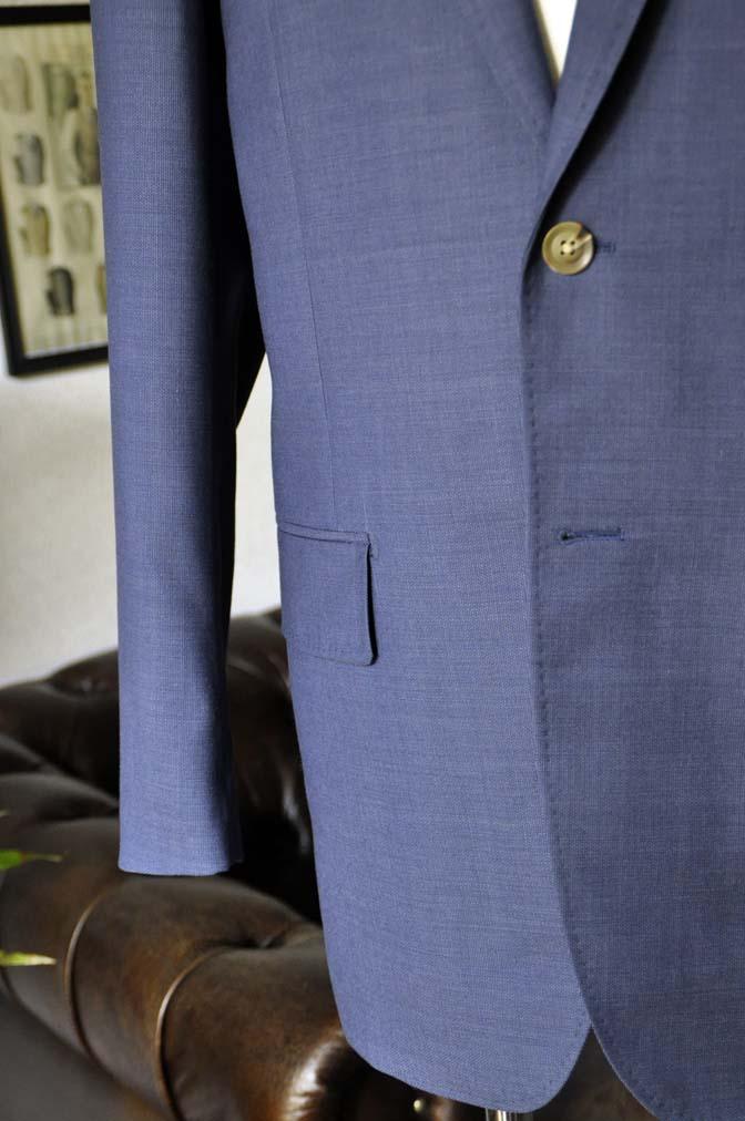 DSC06105 お客様のスーツの紹介-Biellesi ネイビースーツ-