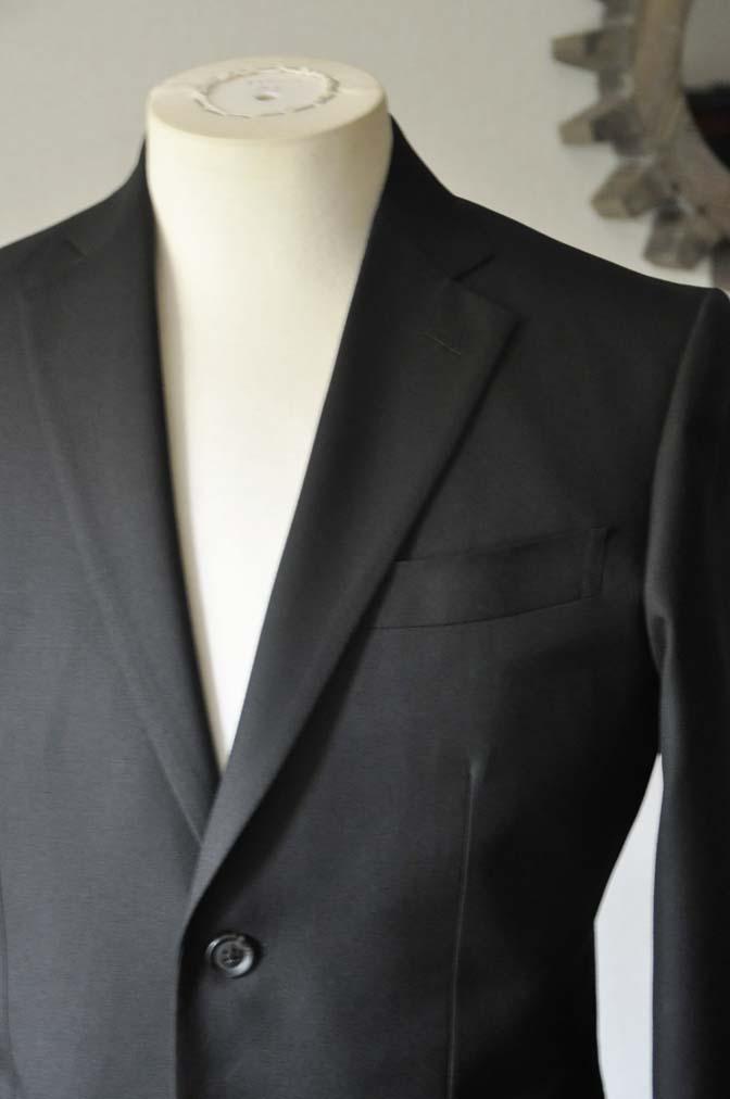 DSC0613-1 お客様のスーツの紹介-ブラックスーツ- 名古屋の完全予約制オーダースーツ専門店DEFFERT