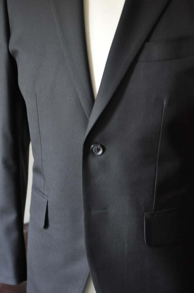 DSC0615-1 お客様のスーツの紹介-ブラックスーツ- 名古屋の完全予約制オーダースーツ専門店DEFFERT