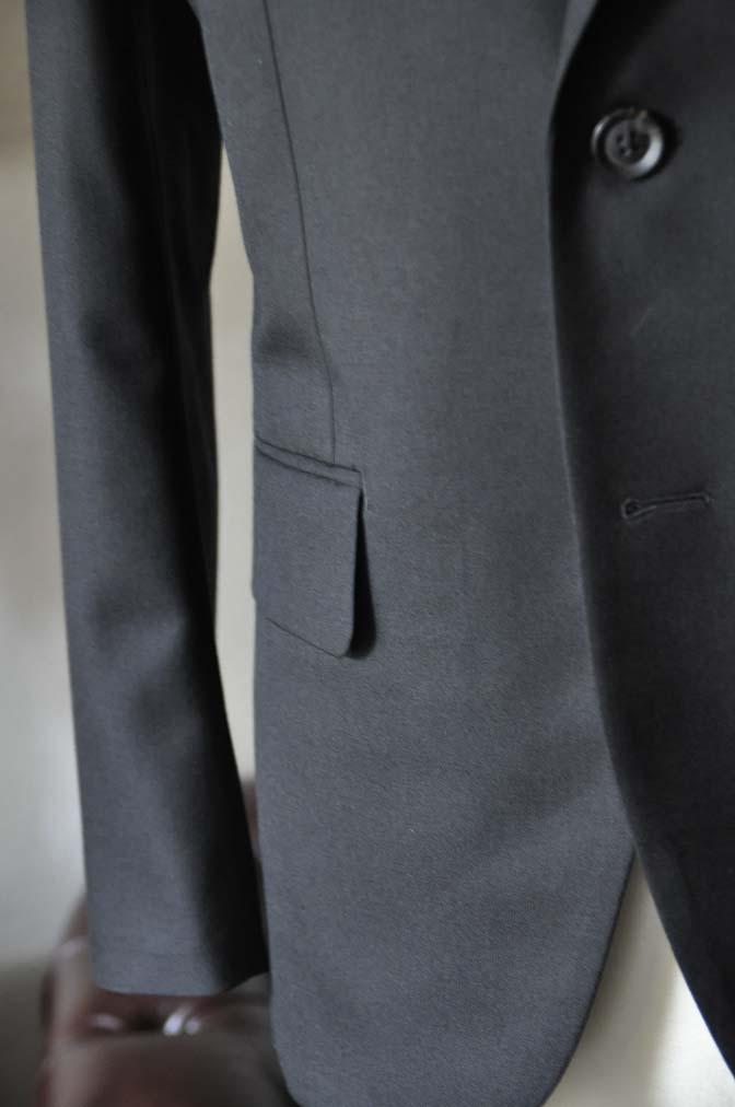 DSC0616-2 お客様のスーツの紹介-ブラックスーツ- 名古屋の完全予約制オーダースーツ専門店DEFFERT