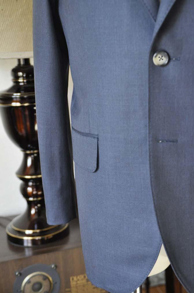 DSC0616-3 お客様のスーツの紹介-Biellesi 無地ネイビー-
