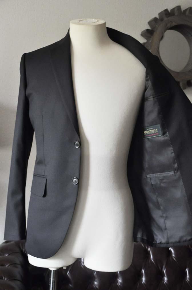 DSC0618-2 お客様のスーツの紹介-ブラックスーツ- 名古屋の完全予約制オーダースーツ専門店DEFFERT