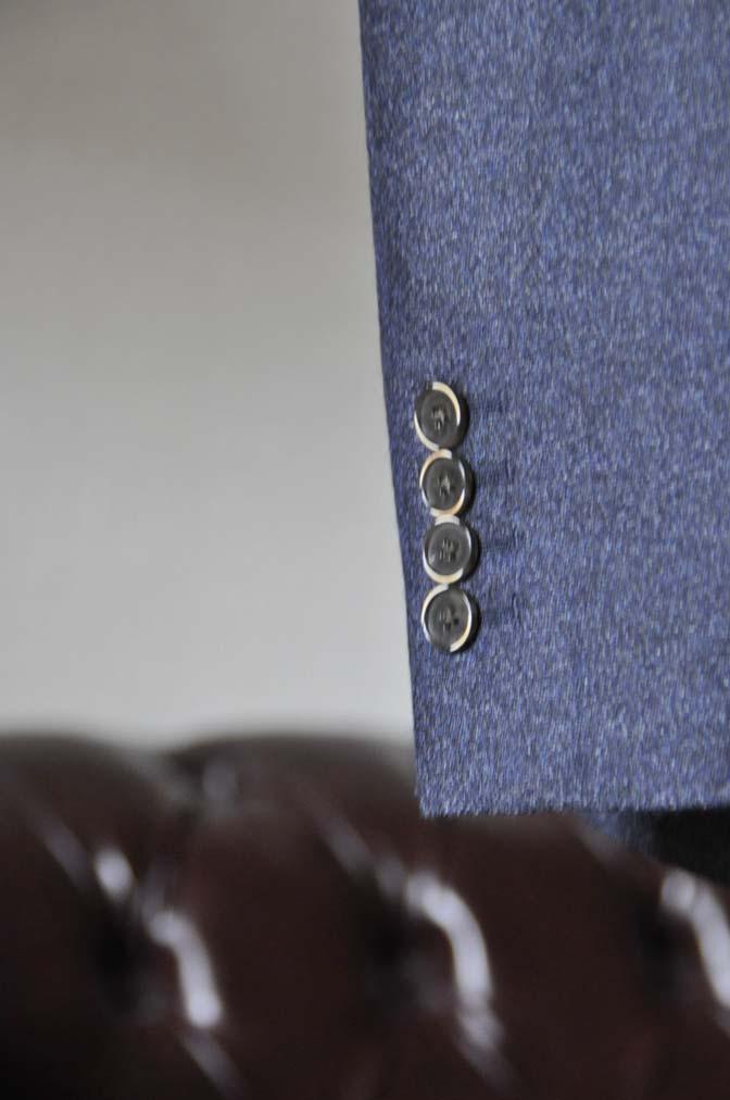 DSC0622-3 お客様のスーツの紹介-無地ネイビーフランネル スリーピース- 名古屋の完全予約制オーダースーツ専門店DEFFERT