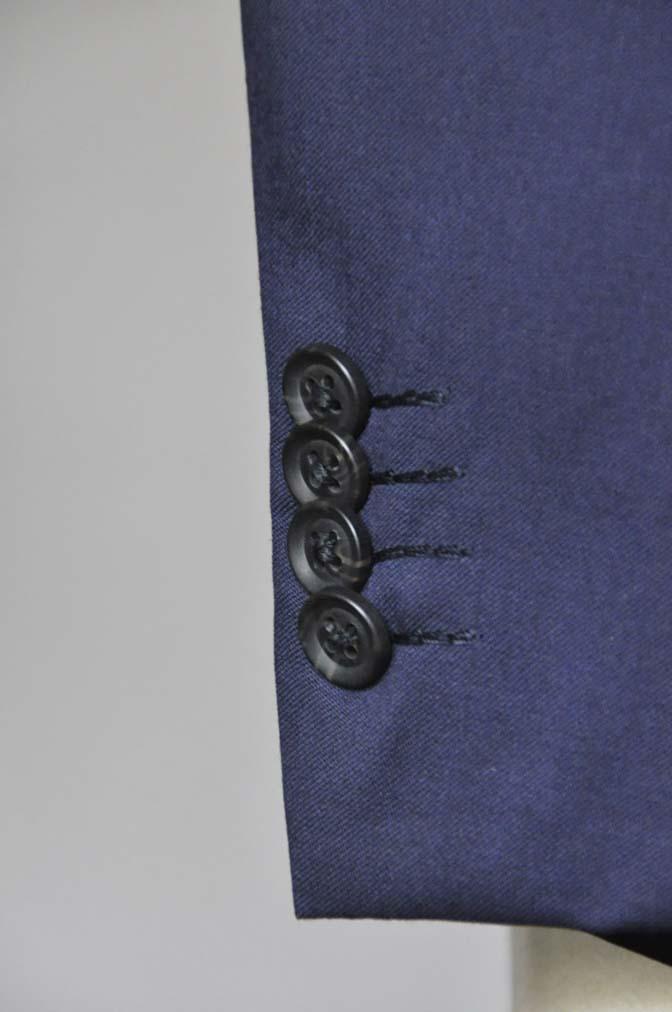 DSC0635-1 お客様のスーツの紹介- Biellesi 無地ネイビースーツ-