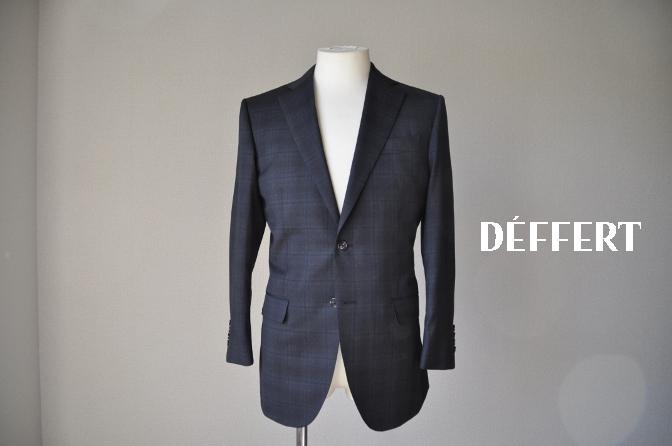 DSC0635 お客様のスーツの紹介-BIELLESI グレーチェックスーツ-