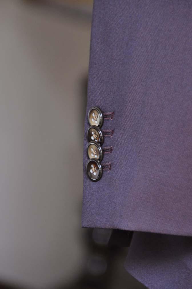 DSC0642-3 お客様のスーツの紹介-Biellesi無地ワインレッド ダブルスーツ-