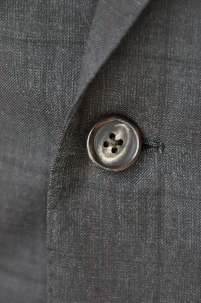 DSC06441 お客様のスーツの紹介-BIELLESI グレーチェックスーツ-