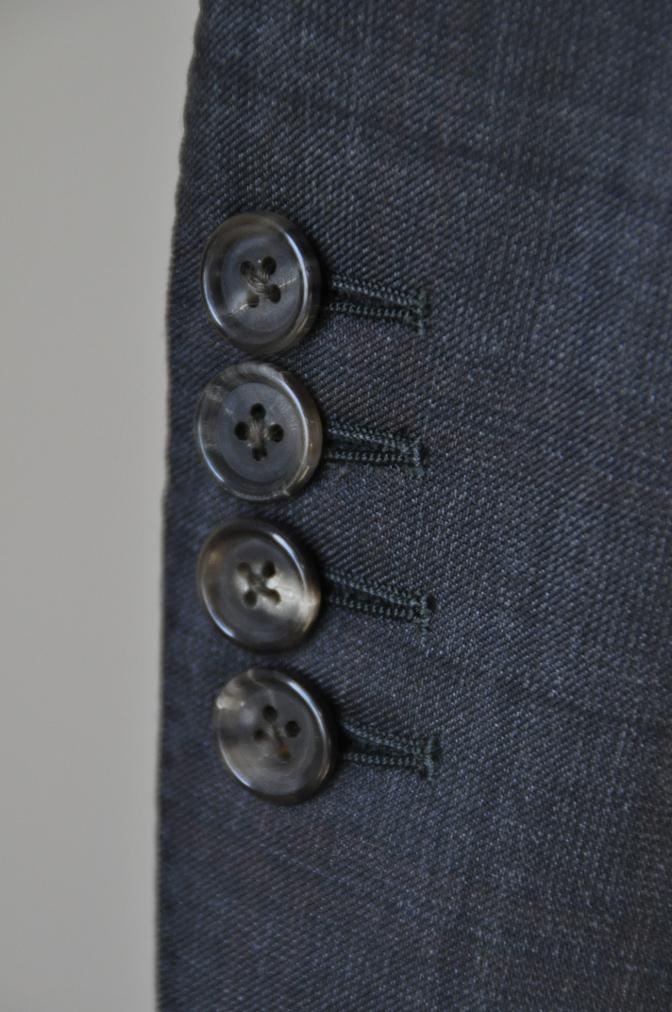 DSC06462 お客様のスーツの紹介-BIELLESI グレーチェックスーツ-
