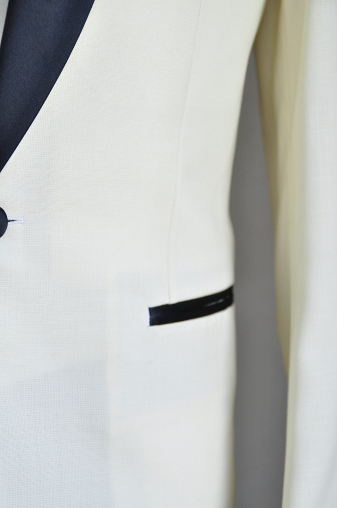 DSC06511 オーダースーツ-ホワイトタキシード- 名古屋の完全予約制オーダースーツ専門店DEFFERT