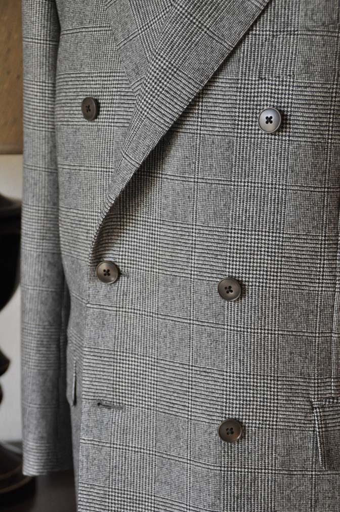 DSC0659-4 お客様のスーツの紹介-御幸毛織Napolena グレンチェック ダブルスーツ-