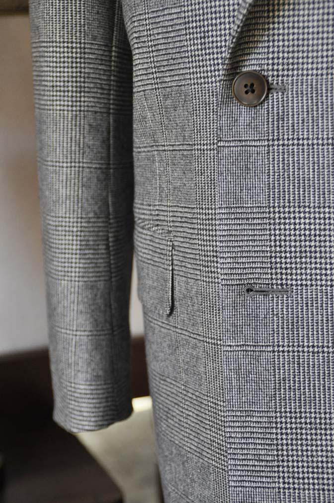 DSC0660-4 お客様のスーツの紹介-御幸毛織Napolena グレンチェック ダブルスーツ-