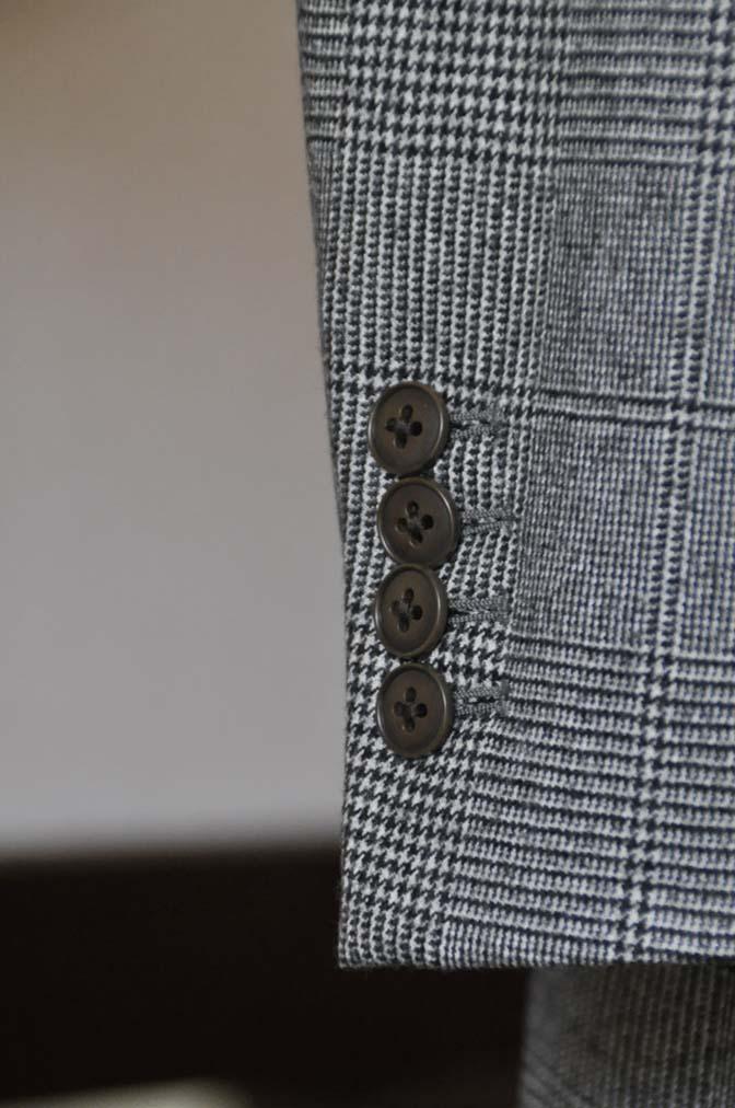 DSC0664-4 お客様のスーツの紹介-御幸毛織Napolena グレンチェック ダブルスーツ-