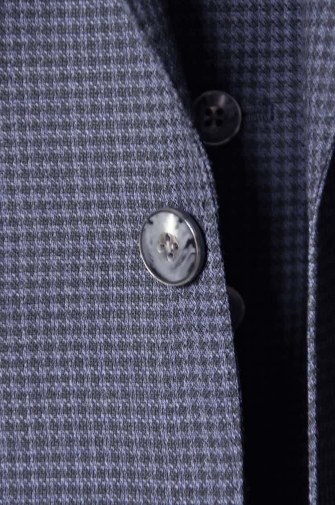 DSC0666-4 お客様のスーツの紹介-Biellesiネイビー千鳥格子スリーピース- 名古屋の完全予約制オーダースーツ専門店DEFFERT