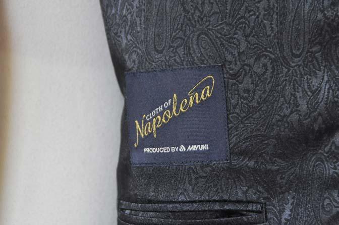 DSC0674-3 お客様のスーツの紹介-御幸毛織Napolena グレンチェック ダブルスーツ-