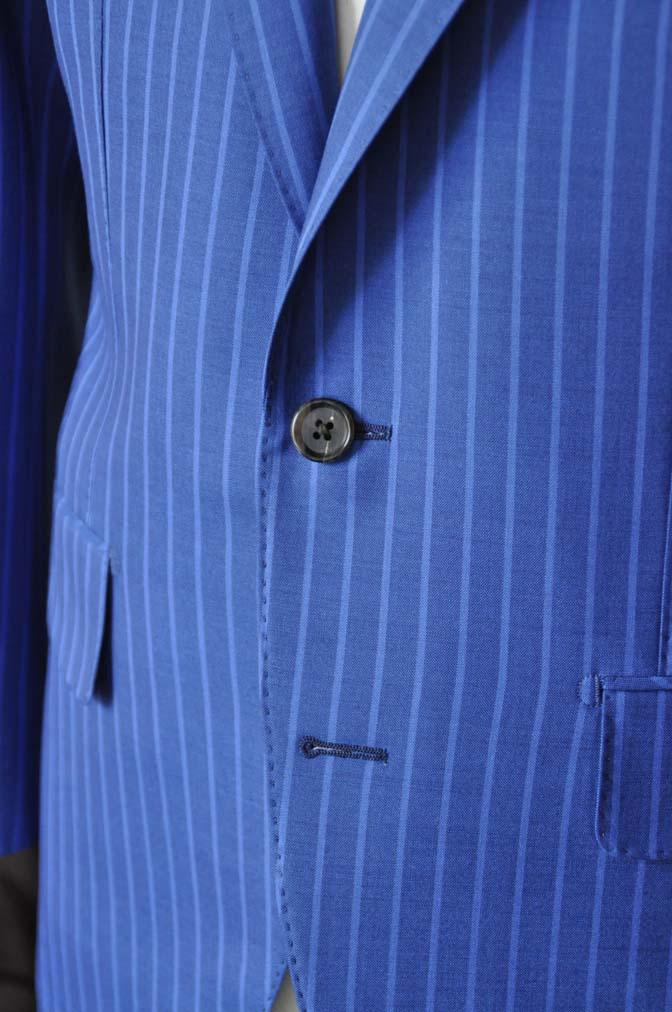 DSC0678-5 お客様のスーツの紹介-DORMEUIL ネイビーストライプ-