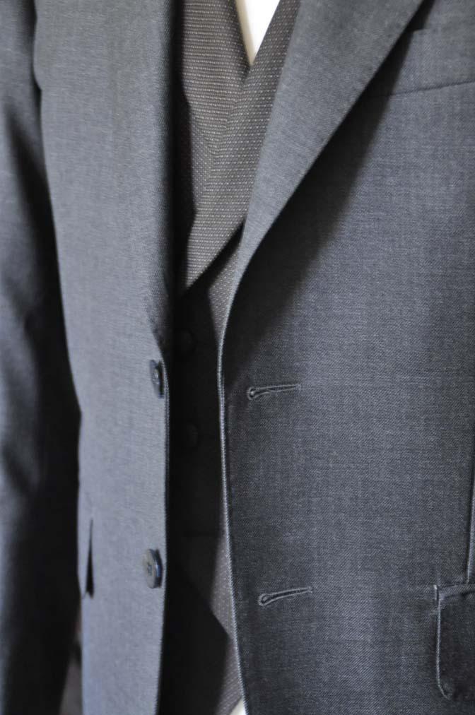 DSC0681-4 お客様のウエディング衣装の紹介-DARROWDALE グレースーツ ブラウンダブル襟付きベスト-