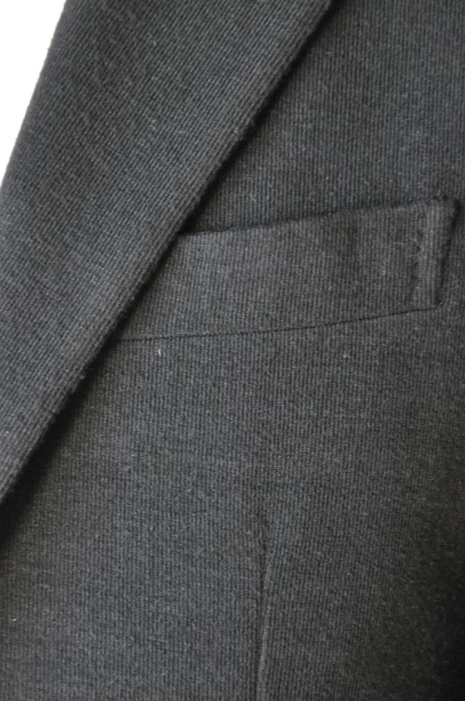 DSC06841 お客様のジャケットの紹介-ブラックニットジャージ ジャケット-