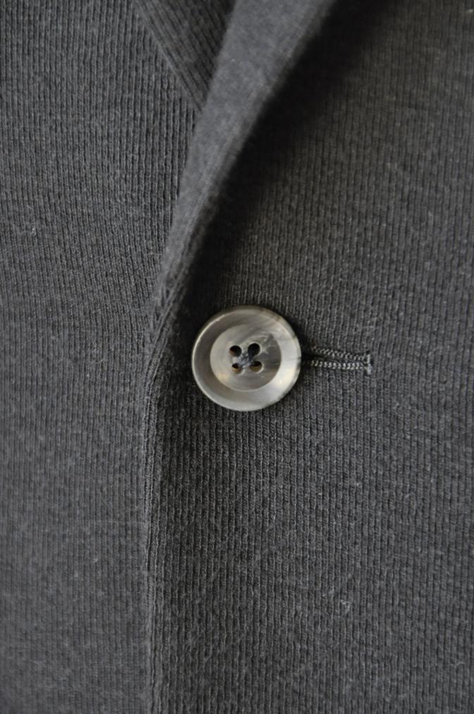 DSC06851 お客様のジャケットの紹介-ブラックニットジャージ ジャケット-