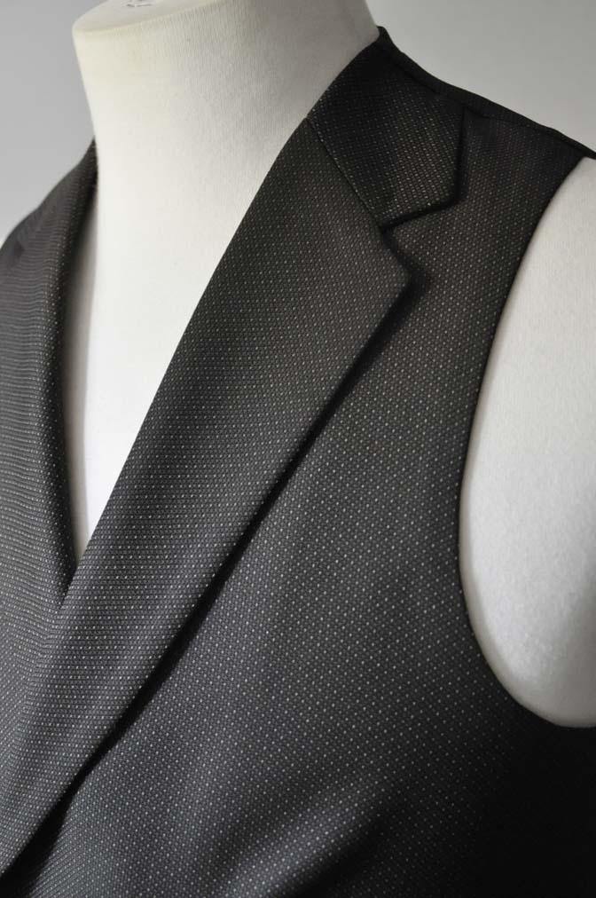 DSC0688-1 お客様のウエディング衣装の紹介-DARROWDALE グレースーツ ブラウンダブル襟付きベスト-