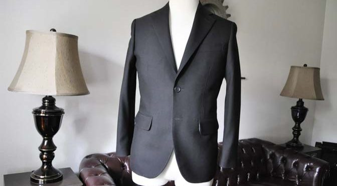 お客様のスーツの紹介-礼服-