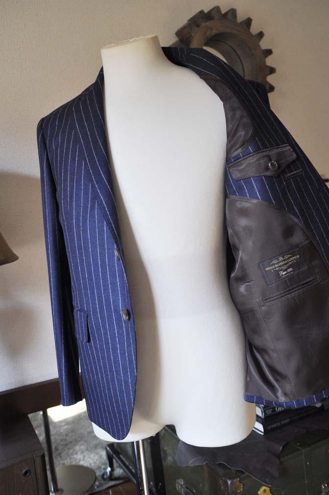 DSC0690-2 お客様のスーツの紹介-CANONICOネイビーストライプ フランネルスーツ-