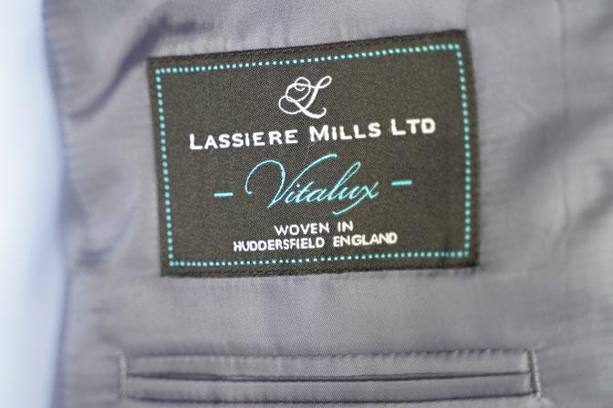 DSC06939 オーダージャケットの紹介-LASSIERE MILLS グレンチェックジャケット-