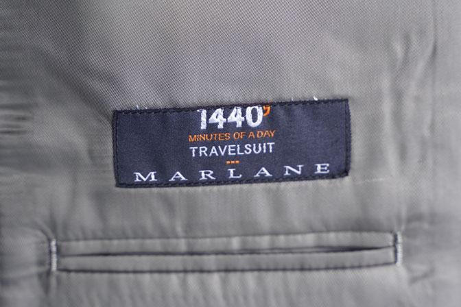 DSC06951-1 オーダースーツの紹介-MARLANEブラックブロックチェック スリーピーススーツ-
