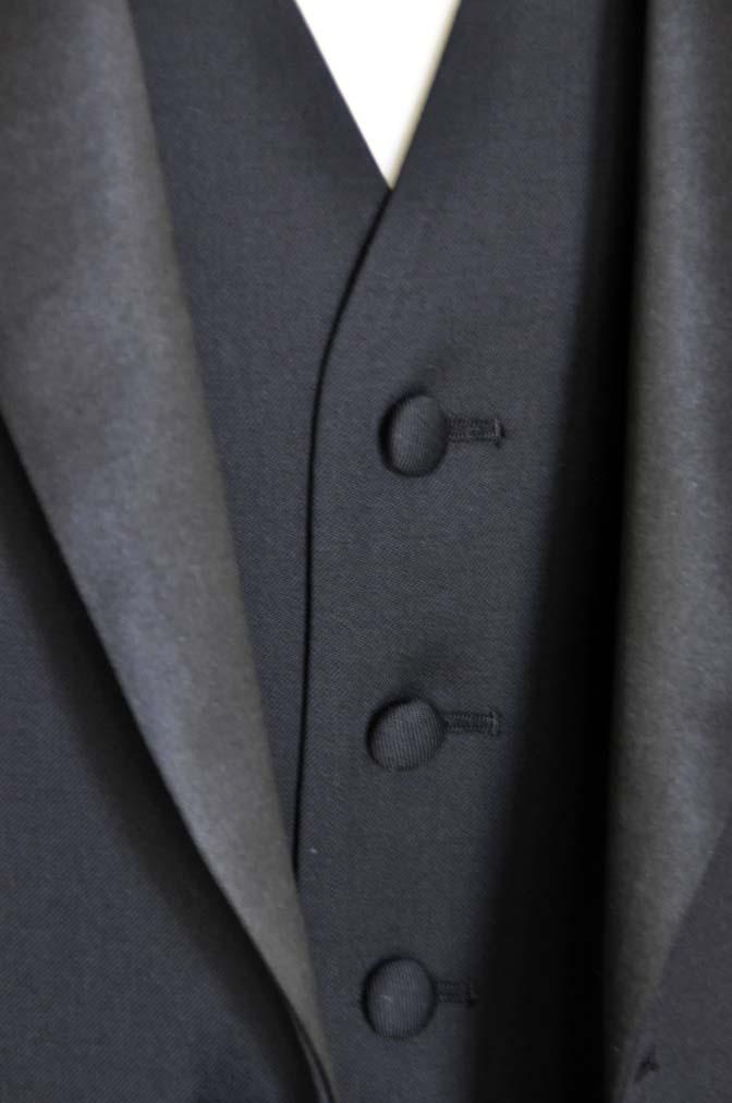 DSC06972 お客様のウエディング衣装の紹介-Biellesi ダークネイビーショールカラータキシード-