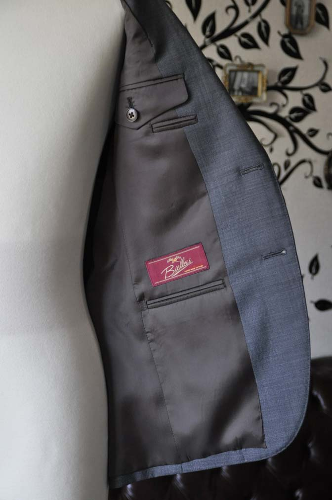 DSC0698-3 お客様のスーツの紹介-Biellesiグレースーツ-