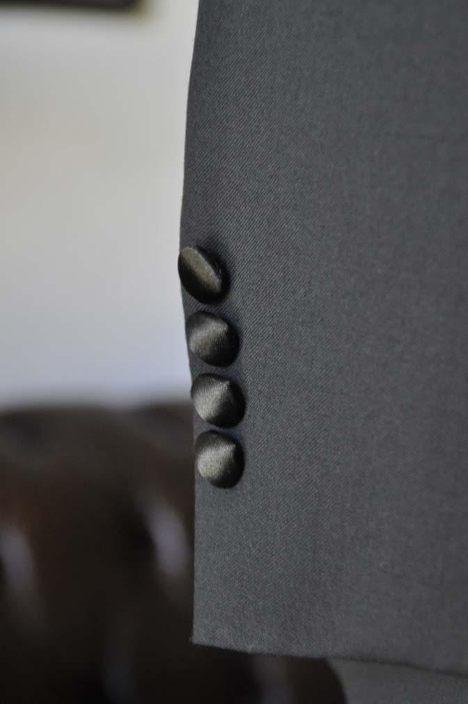DSC06992 お客様のウエディング衣装の紹介-Biellesi ダークネイビーショールカラータキシード-