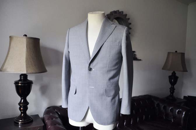 DSC0703-1 お客様のスーツの紹介- DARROWDALE千鳥格子スーツ-